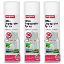 Sparpaket Beaphar Ungeziefer Total Spray 3 x 400 ml